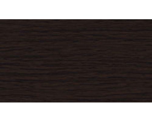 302 Венге черный - плинтус напольный с кабель каналом 55 мм коллекции Комфорт Идеал