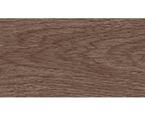 205 Дуб капучино - плинтус напольный с кабель каналом 55 мм коллекции Комфорт Идеал