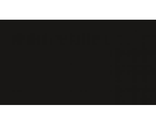 007 Черный - плинтус напольный с кабель каналом 55 мм коллекции Комфорт Идеал