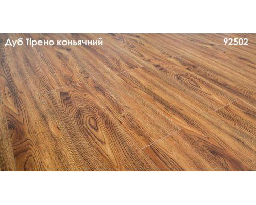 92502 Дуб Тирено коньячный - Grun Holz, 32 клас, 8 мм