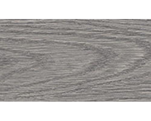 210 Дуб пепельный - плинтус напольный с кабель каналом 55 мм коллекции Комфорт Идеал