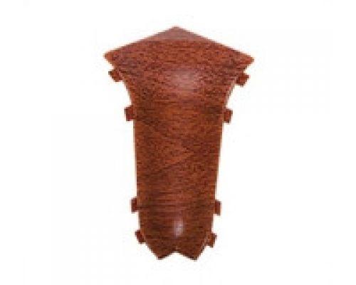 Угол внутренний - Комплектующие для плинтуса с кабель каналом 55 мм коллекции Комфорт Идеал
