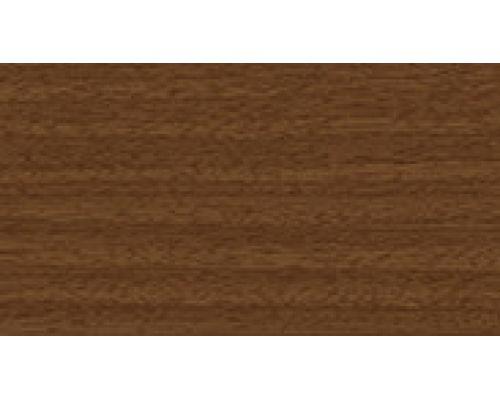 291 Орех - плинтус напольный с кабель каналом 55 мм коллекции Комфорт Идеал