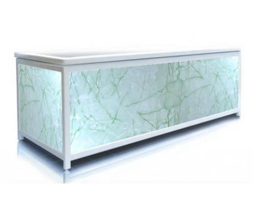 Экран под ванну ЭЛИТ Зеленая акварель