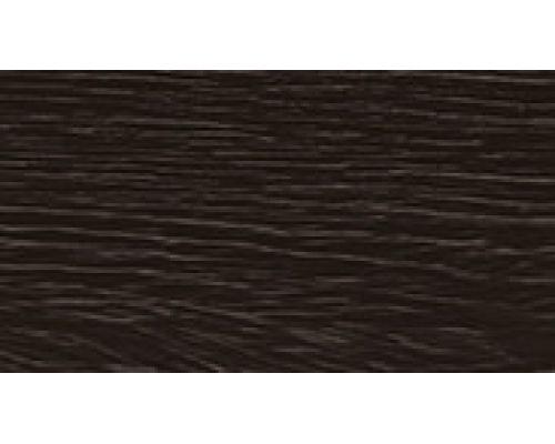209 Дуб мореный- плинтус напольный с кабель каналом 55 мм коллекции Комфорт Идеал