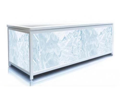 Экран под ванну ЭЛИТ Голубой Лед