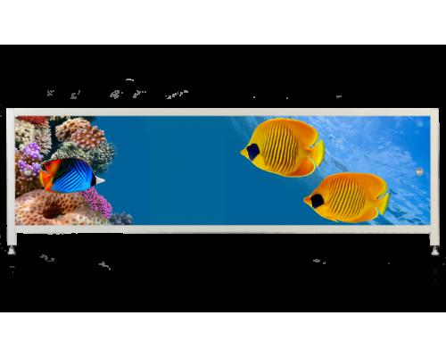Экран под ванну «АРТ», Рыбки