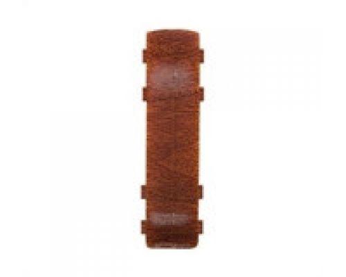 Соеденитель для плинтуса - Комплектующие для плинтуса с кабель каналом 55 мм коллекции Комфорт Идеал
