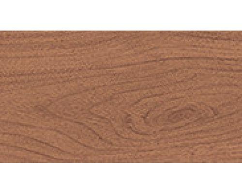 243 Вишня красная - плинтус напольный с кабель каналом 55 мм коллекции Комфорт Идеал