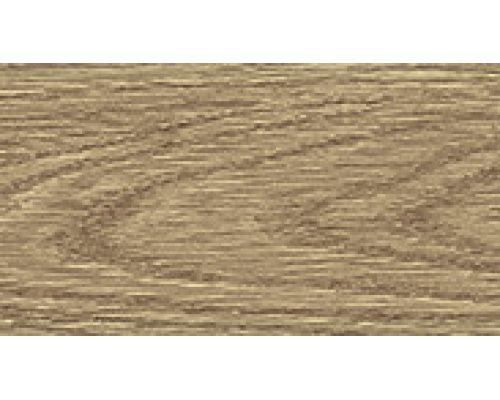 311 Карагач - плинтус напольный с кабель каналом 55 мм коллекции Комфорт Идеал