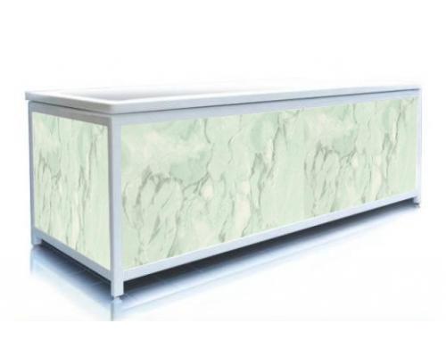 Экран под ванну ЭЛИТ Зеленый мрамор