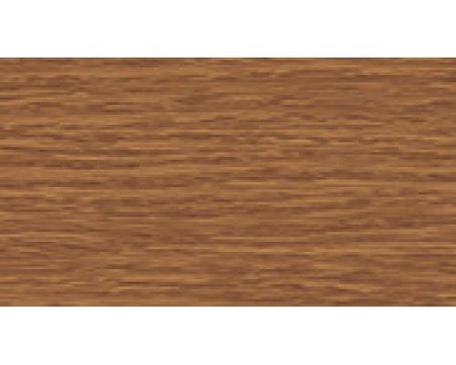 Плинтус 217 Дуб темный - серии Элит-Макси Идеал с 3 кабель-каналами 85 мм