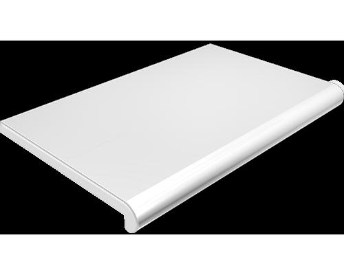 Белый глянец подоконник Plastolit