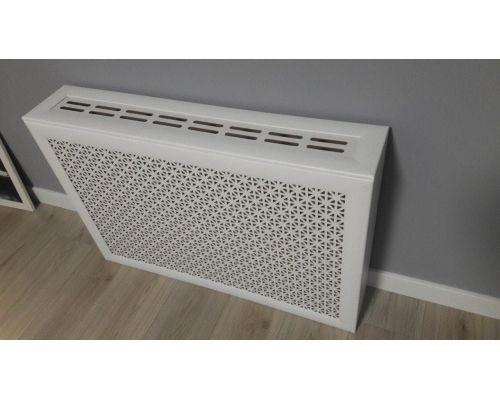 Короб для радиатора Белый 120*60*17см