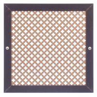 Коламбия (орех) 600х600 мм - Экран декоративный на батарею
