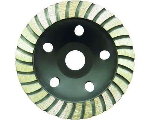 Круг алмазный шлифовальный чашечный Турбо Ø115х5.0х22.2мм, 11000об/мин Sigma (1912221)