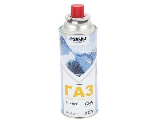 Баллон газовый зимний 227г CRV Sigma (2901721)