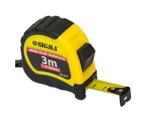 Рулетка shiftlock 3м*16мм Sigma (3815031)