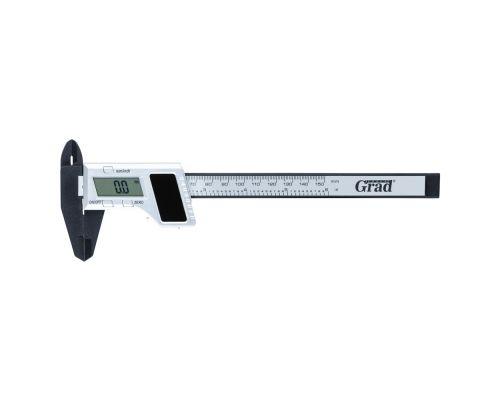 Штангенциркуль цифровой на солнечной батарее 150мм точность 0.02мм Grad (3923215)