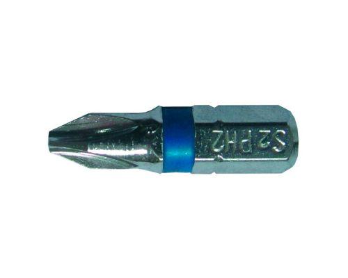 Набор бит PН2x25мм 1/4 10шт S2 Chrome (лента) Sigma (4010251)