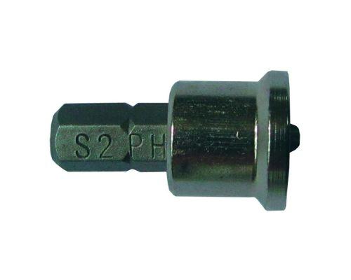 Набор бит с ограничителем PН2x25мм 1/4 10шт S2 (блистер) Sigma (4010281)