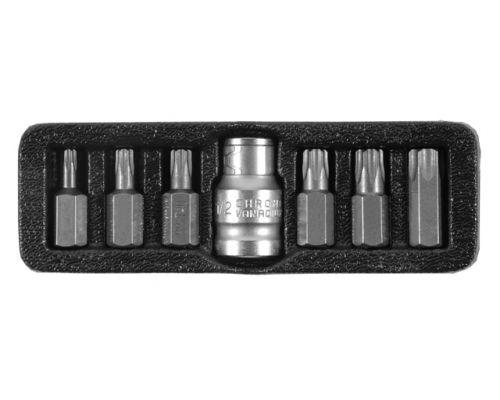 Набор бит TORX Ultra ½ 7шт S2 (пласт кейс) (4013502)