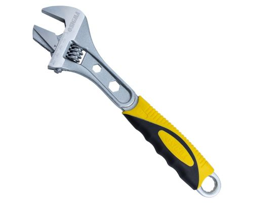 Ключ разводной с переставной губкой 300мм, 0-41мм CrV (TPR) Sigma (4100941)