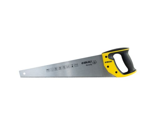 Ножовка по дереву 450мм 11TPI Grizzly Sigma (4400881)