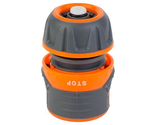Коннектор ½ быстросъёмный для шланга ½ аквастоп с замком FLORA (5015434)