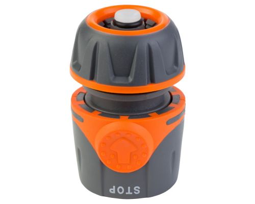Коннектор ½ быстросъёмный для шланга ½ аквастоп FLORA (5015494)
