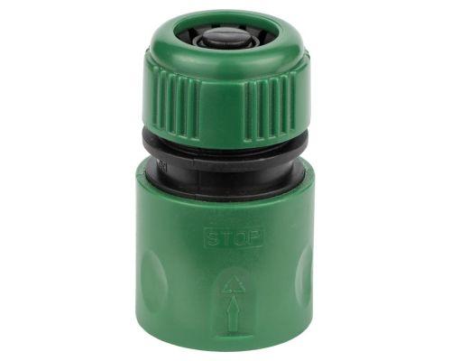Коннектор ½ быстросъёмный аквастоп для шланга ½ Grad (5016115)