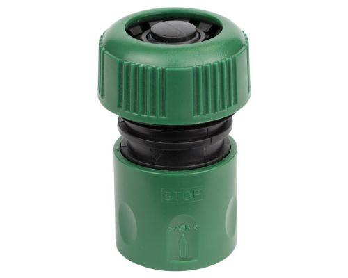 Коннектор ½ быстросъёмный аквастоп для шланга ¾ Grad (5016125)