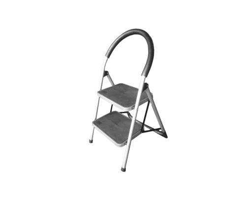 Стремянка стальная 2 ступенчатая FLORA (5035314)