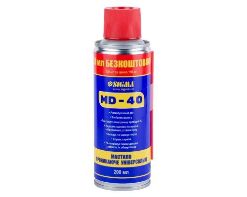 Универсальная проникающая смазка MD-40 200мл Sigma (6370131)