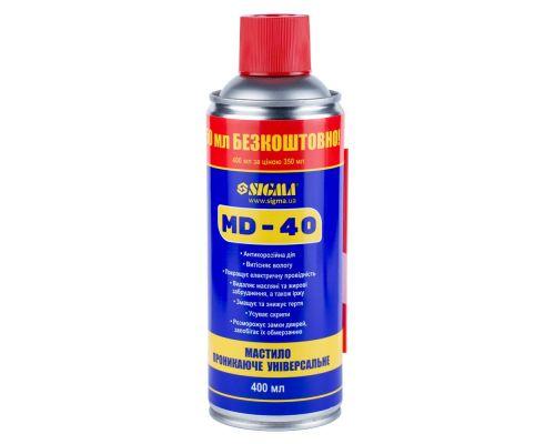 Универсальная проникающая смазка MD-40 400мл Sigma (6370171)