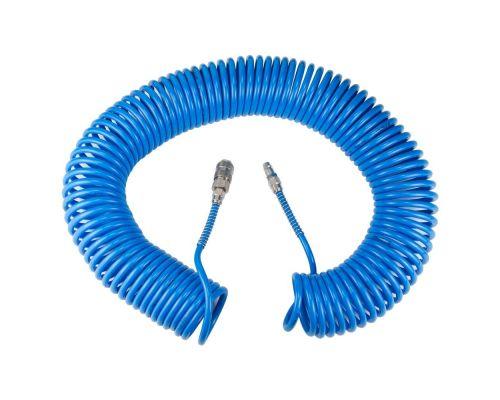 Шланг спиральный полиуретановый (PU) 20м 5.5×8мм Sigma (7012041)