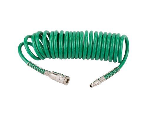 Шланг спиральный полиуретановый (PU) 5м 6.5×10мм Refine (7012161)