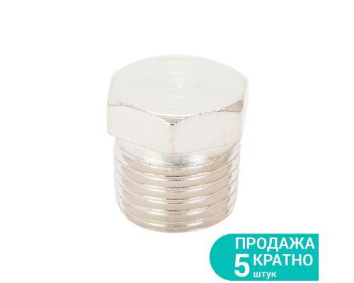 Заглушка с наружным резьбовым соединением 1/4 Sigma (7025811)