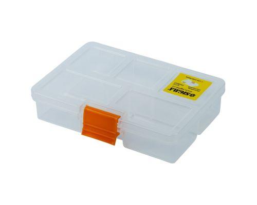 Органайзер пластиковый (прозрачный) 135×100×30мм Sigma (7418011)