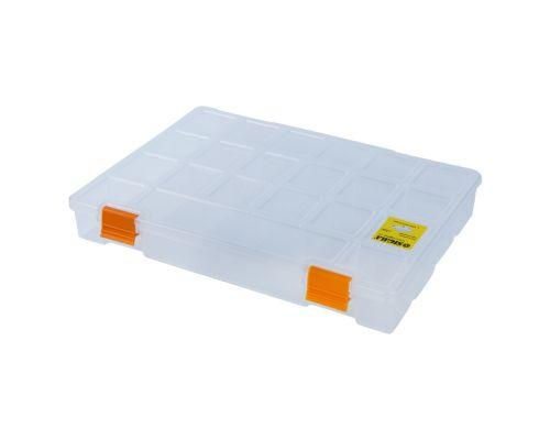 Органайзер пластиковый (прозрачный) 276×203×42мм Sigma (7418041)