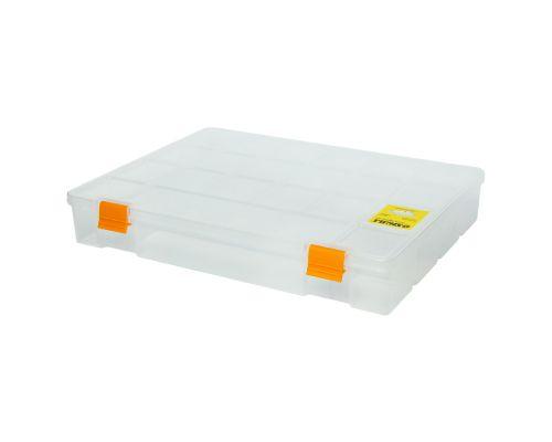 Органайзер пластиковый (прозрачный) 324×247×51мм Sigma (7418051)