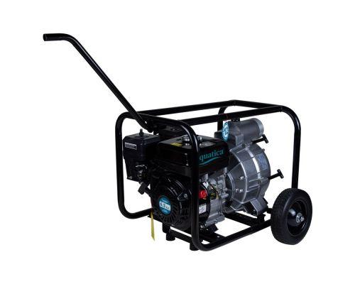 Мотопомпа 6.5л.с. Hmax 28м Qmax 50м³/ч (4-х тактный) для грязной воды AQUATICA (772537)