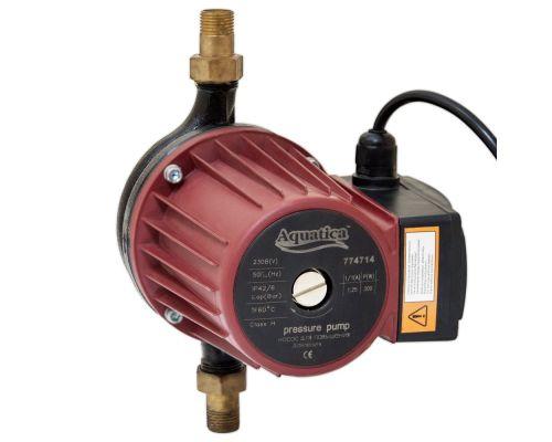 Насос для повышения давления 270Вт Hmax 12м Qmax 47л/мин ؾ 195мм + гайки ؽ AQUATICA (774714)