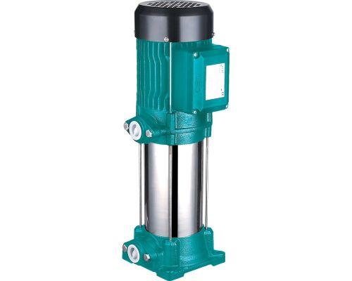 Насос центробежный многоступенчатый вертикальный 380В 2.2кВт Hmax 86м Qmax 100л/мин LEO 3.0 (7754563)