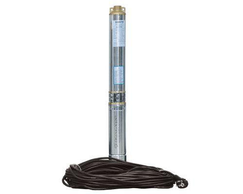 Насос центробежный скважинный 0.37кВт H 35(26)м Q 90(60)л/мин Ø80мм (кабель 20м) AQUATICA (DONGYIN) (777390)