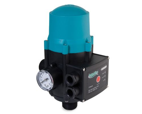 Контроллер давления электронный 1.1кВт Ø1 авт поиск воды + рег давл вкл 1.5-3.0 bar AQUATICA (779534)