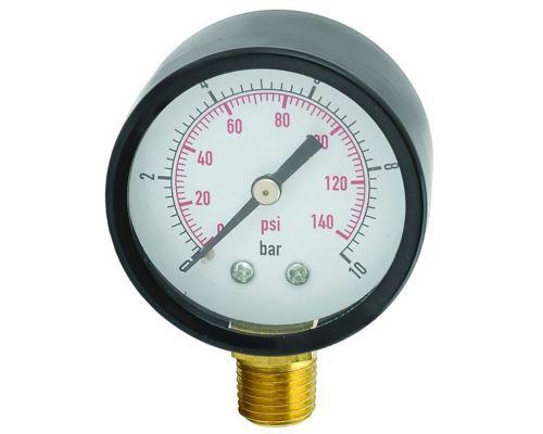Манометр радиальный 0-10 бар 50мм AQUATICA (779538)