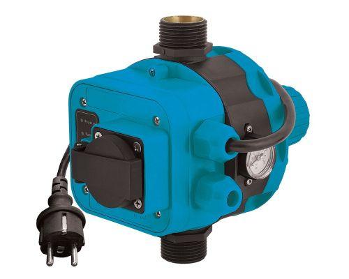 Контроллер давления электронный 1.1кВт Ø1 + розетка AQUATICA (779556)
