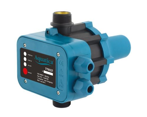 Контроллер давления электронный 1.1кВт Ø1 авт поиск воды AQUATICA (779557)