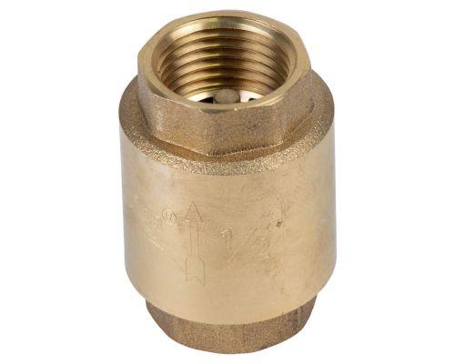 Клапан обратный F1/2xF1/2 (латунь) euro 130г AQUATICA (779650)